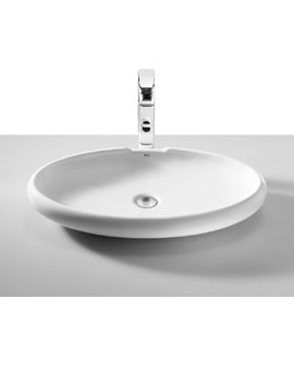 Roca Urbi 5 Over Countertop 650 x 400mm Basin With No Taphole