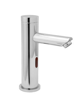 Deva Sensor 4D Mains Or Battery Operated Mono Basin Mixer Tap Chrome