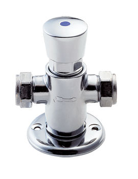 Deva Non Concussive Pre-Set Exposed Shower Valve Chrome