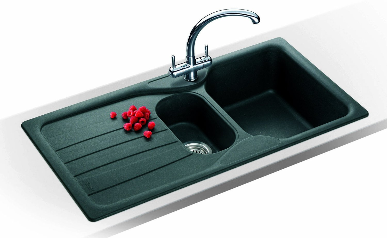 Graphite Kitchen Sinks : You are here: AQVA Bathrooms Kitchens Composite Sinks Brand New Franke ...