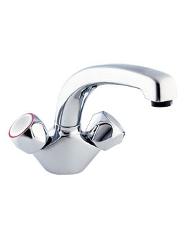 Deva Profile Mono Kitchen Sink Mixer Tap In Chrome Finish
