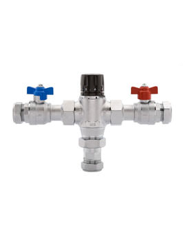 Deva 28mm Thermostatic Blending Valve Chrome