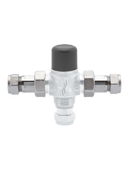 Deva Chrome Thermostatic 15mm Blending Valve