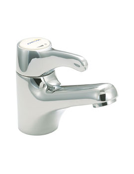 Deva Lever Action Sequential Control Spray Mono Mixer Tap Chrome
