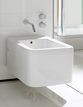 Roca Element Wall Hung Bidet With No Taphole