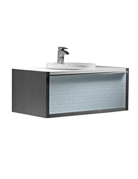 Roca Veranda-N Wall Hung Vanity Base Unit With Straight Sides