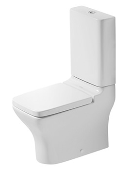 Duravit Puravida White Close Coupled Toilet And Cistern With Seat And Cover