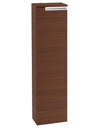 Roca Victoria-N 253 x 1100mm Column Unit Textured Wenge