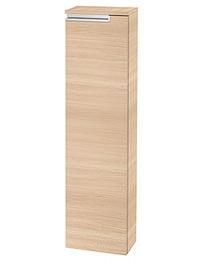 Roca Victoria-N 253 x 1100mm Column Unit With 1 Door Textured Oak