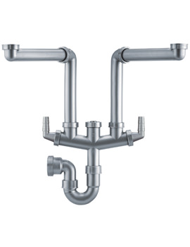 Franke Siphon II Plumbing Kit For 1.5 And 2 Bowl Kitchen Sink