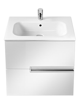 Roca Victoria-N Unik Basin And Unit With 2 Drawers 700mm - White