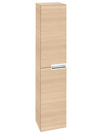 Roca Victoria-N 350 x 1500mm Column Unit Textured Oak