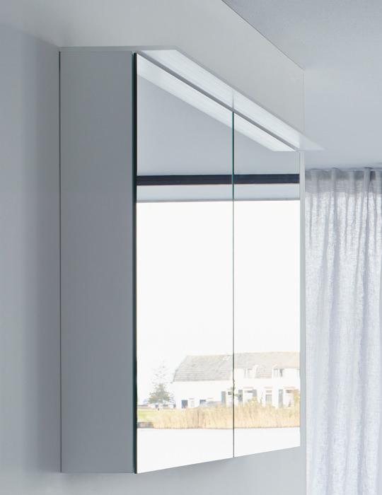 Duravit Happy D2 800mm White Gloss Mirror Cabinet