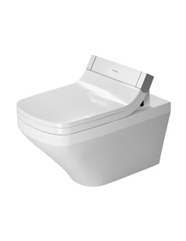Duravit DuraStyle 620mm Wall Mounted Rimless Toilet With SensoWash