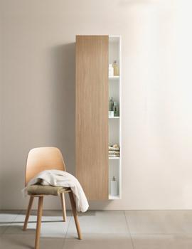 Duravit DuraStyle 1800x360mm Tall Cabinet White Matt