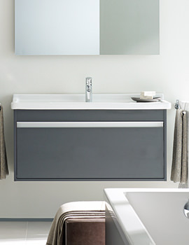 Duravit Ketho 800mm Vanity Unit With 1 Drawer And 850mm Basin