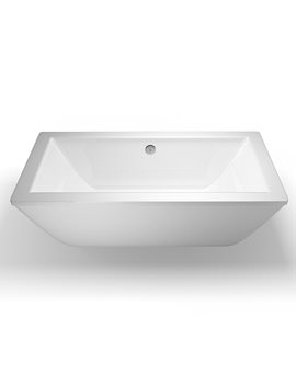 Cleargreen Freefortis 1800 x 800mm Double Ended Freestanding Bath - R35
