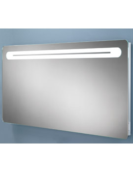 HIB Vortex Steam Free LED Back-Lit Mirror With Shaver Socket 1200 x 600mm