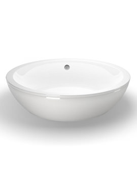Cleargreen Freestark 1740 x 870mm Double Ended Freestanding Bath - R31