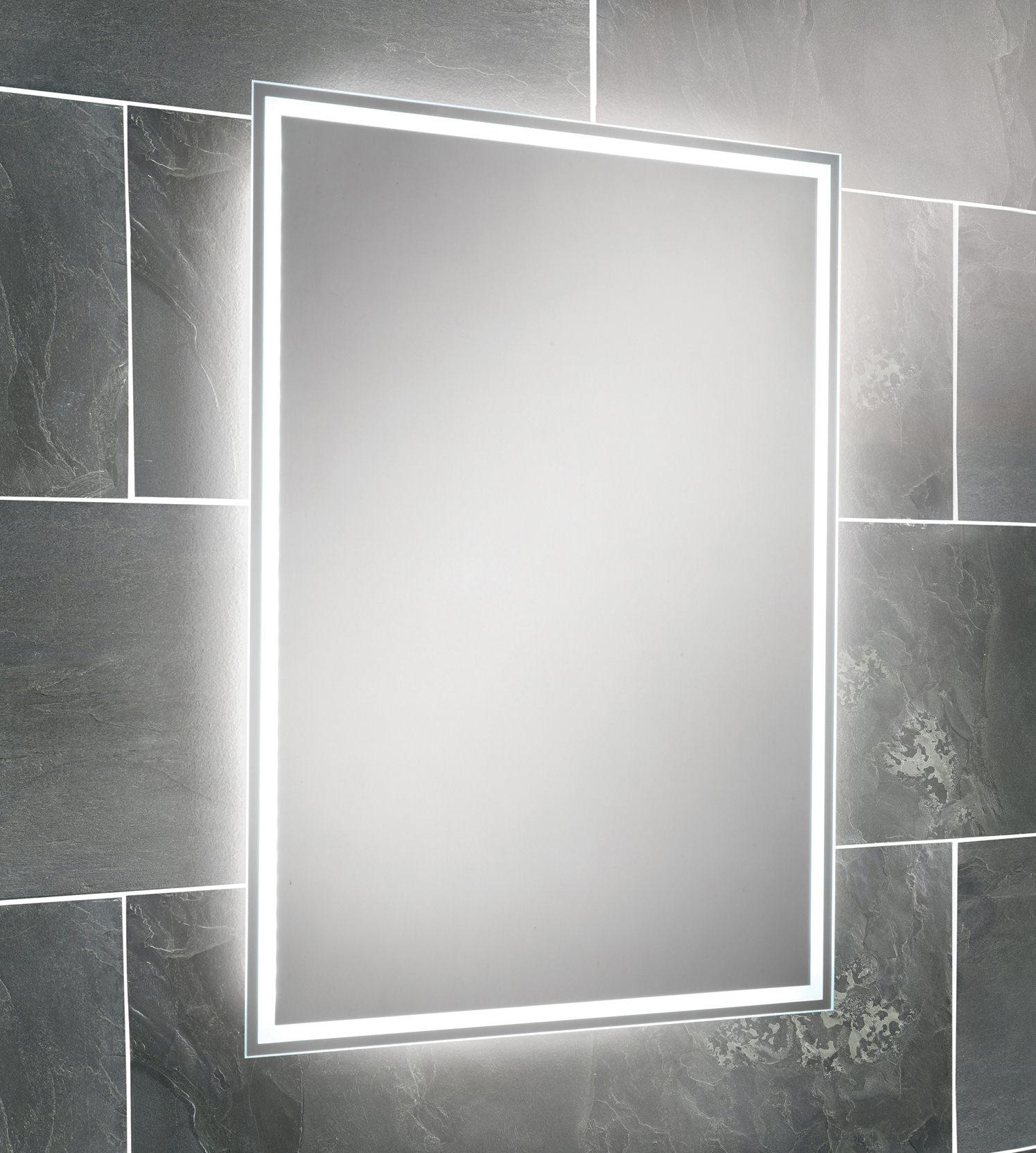 Illuminated bathroom mirrors ikea - Hib Ella Steam Free Led Back Lit Bathroom Mirror 700 X 500mm
