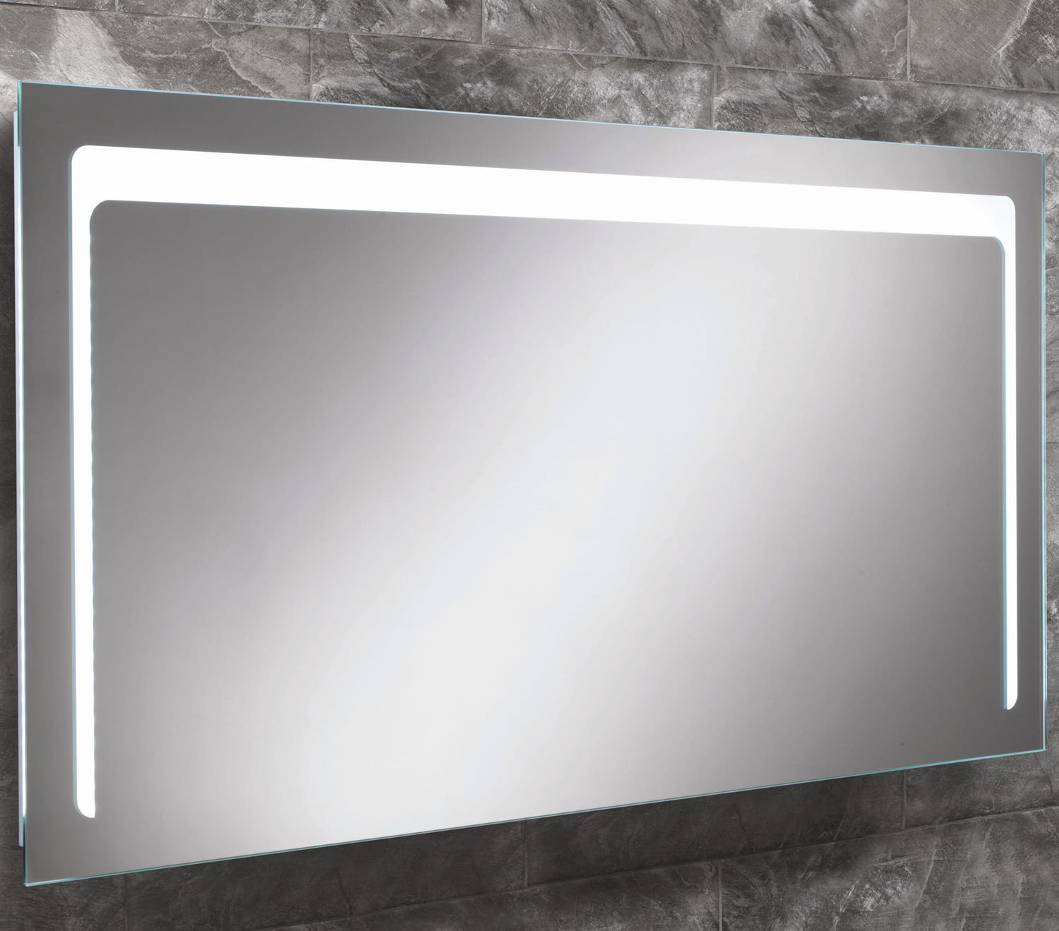 Luxury An Illuminated Bathroom Mirror Or Cabinet Is An Emerging Fashion Trend That Will Last Many Of Us Have A Conventional Bathroom With White Wooden Cabinets, Flat Mirrors Above The Basin With Down Lights Although These Are Perfectly Fine