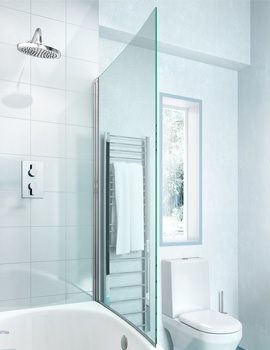 Cleargreen Ecocurve 850 x 1450mm Bathscreen