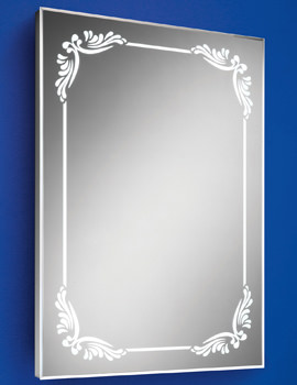 HIB Victoria Steam Free LED Back-Lit Bathroom Mirror 500 x 700mm