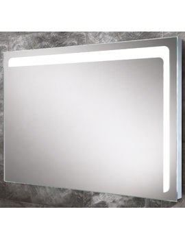 HIB Louisa Steam Free LED Back-Lit Bathroom Mirror 800 x 600mm