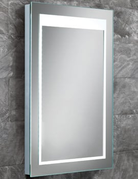 HIB Liberty Steam Free LED Back-Lit Bathroom Mirror 400 x 600mm