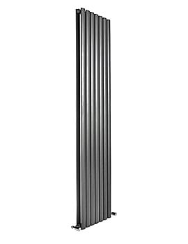 DQ Heating Cove Double Vertical Radiator 295 x 1500mm Anthracite