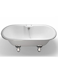 Clearwater 169 x 80cm Classico Natural Stone Bath With Claw Feet