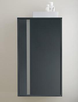 Duravit Ketho Graphite Matt 500 x 880mm Low Cabinet