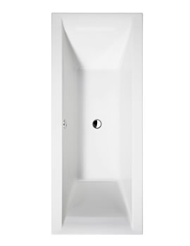 Cleargreen Enviro 1700 x 750mm Double Ended Rectangular Bath