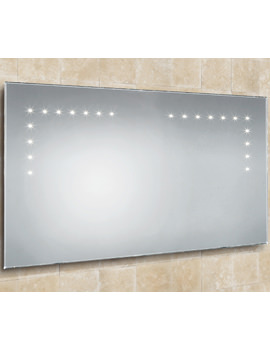 HIB Aaron Bevelled Edge Steam Free LED Mirror 1000 x 530mm