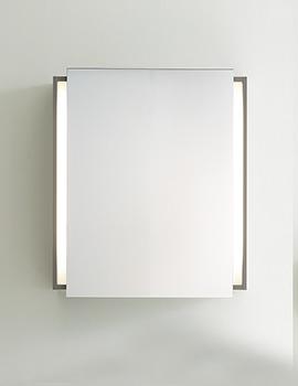 Duravit Ketho Graphite Matt 650mm Mirror Cabinet