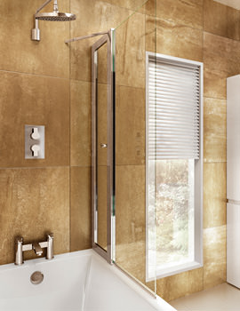 Cleargreen 850 x 1450mm Bathscreen With Access Panel - BS3