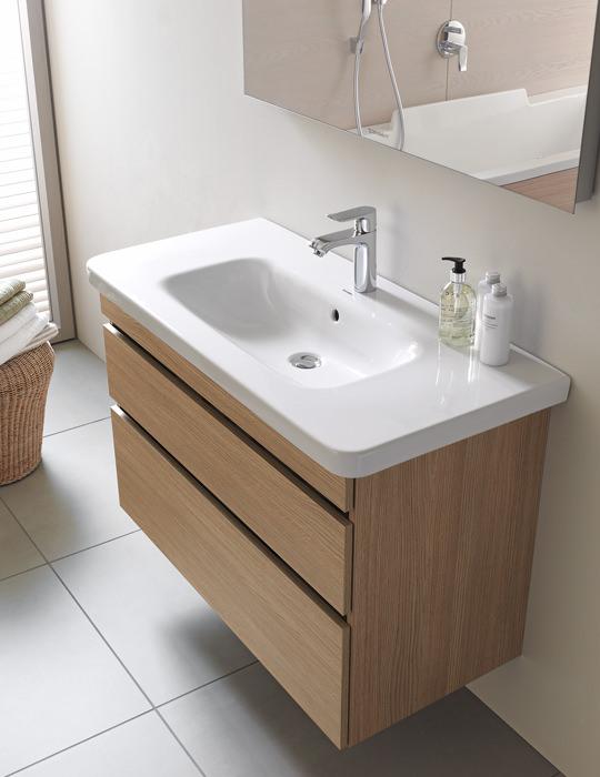 Duravit durastyle 800mm vanity unit with 850mm basin - Duravit bathroom furniture uk ...