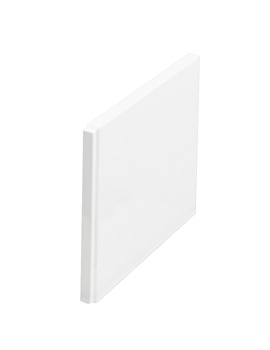Cleargreen 800mm End Bath Panel White