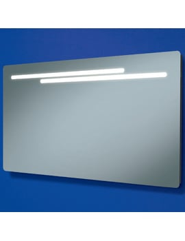 HIB Maxi Fluorescent Back-Lit Mirror 1200 x 600mm
