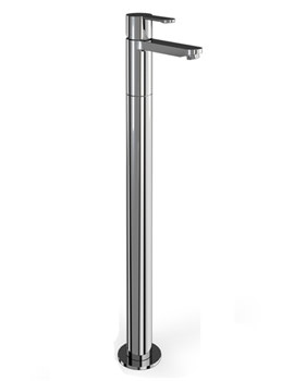 Cleargreen Sapphire Single Lever Bath Filler With Floor Standing Shroud