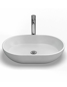 Clearwater Formoso Natural Stone Basin 590 x 390mm