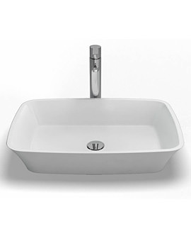Clearwater Palermo Natural Stone Basin 590 x 390mm