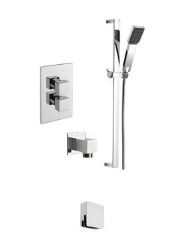 Tre Mercati Edge Concealed Valve With 2 Way Diverter And Shower Set