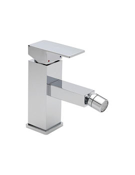 Tre Mercati Edge Mono Bidet Mixer Tap With Pop-up Waste
