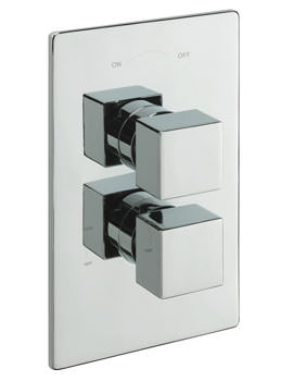 Tre Mercati Edge Concealed Shower Valve With 2 Way Diverter