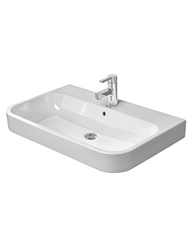 Duravit Happy D2 650 x 505mm Furniture Grinded Washbasin