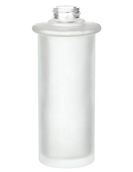 Smedbo Xtra Spare Frosted Glass Container For Soap Dispenser