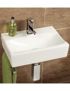 HIB Malo Murcia Cloakroom Washbasin With Towel Rail
