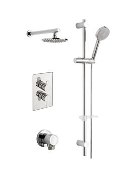 Tre Mercati Lollipop Concealed Valve With Slide Rail Kit And Shower Head
