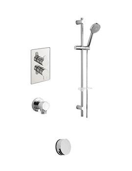 Tre Mercati Lollipop Concealed 2 Way Diverter Valve With Shower Set